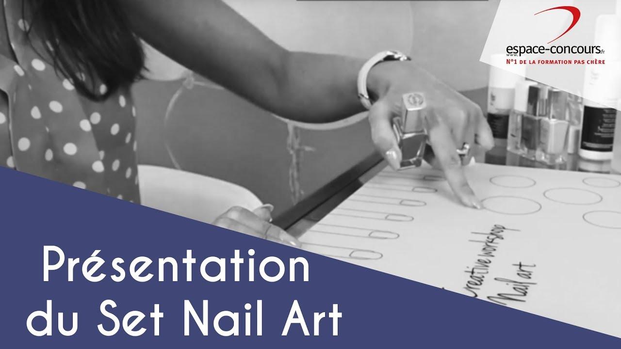 Prothésie ongulaire : Présentation du Set nail art