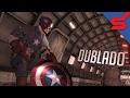 Capit o Am rica Na Guerra Dublado Captain America Super