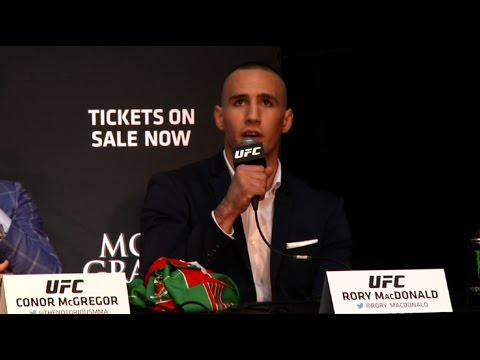 UFC 189 World Championship Tour: Toronto Press Conference Recap