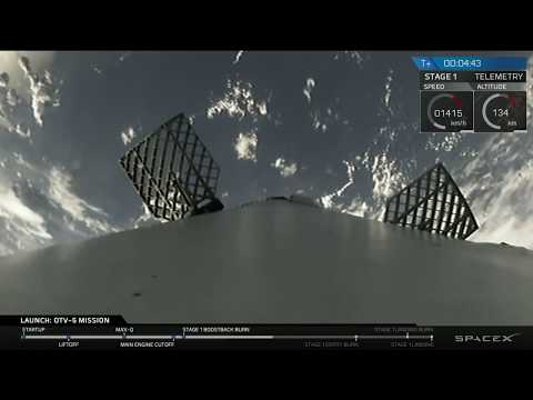 Orbital Test Vehicle 5 (OTV-5) Mission © SpaceX