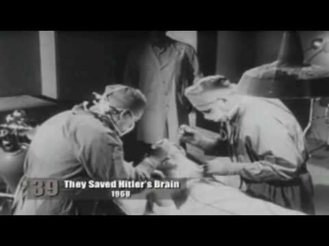 They Saved Hitlers Brain!