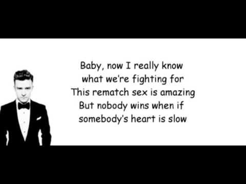Justin Timberlake – TKO Lyrics (Official song)