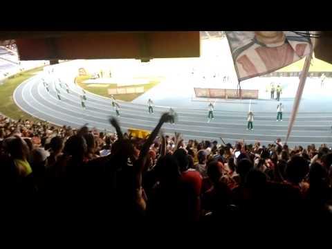 Llega la banda loca del Rojiblanco - Frente Rojiblanco Sur, Junior 2-0 Pasto - Frente Rojiblanco Sur - Junior de Barranquilla