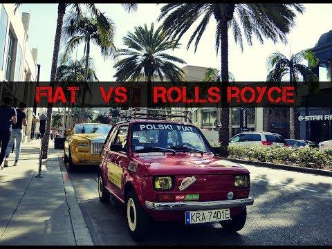"""Polak zaparkował """"malucha"""" na najdroższej ulicy świata i wywołał ogromne zamieszanie!"""