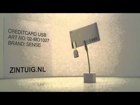 USB stick creditcard – Relatiegeschenken