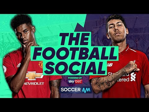 LIVE: Manchester United 0-0 Liverpool - Liverpool 1 Point Clear Of City #TheFootballSocial