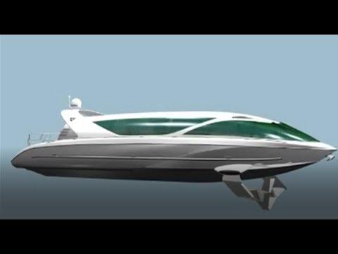 Суда наподводных крыльях LOOKER, новые модели