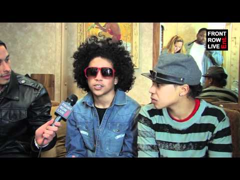 Mindless Behavior interview w/ Robert Herrera