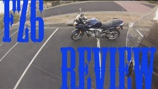 3. 2005 Yamaha FZ6 Review Motovlogg #1 [mv]{