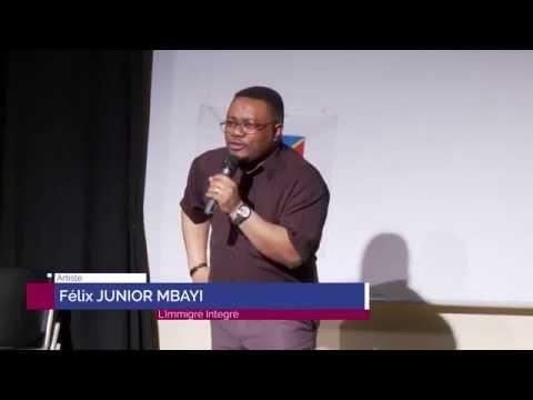 Un one man show de Felix Mbayi