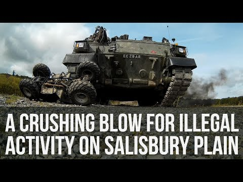 Illegal activity on Salisbury Plain quashed