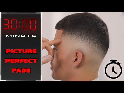 Flawless FADE technique - BARBER Tutorial