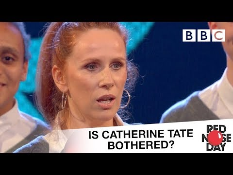Is Catherine Tate bothered about Red Nose Day? - Comic Relief 2017: Red Nose Day (видео)