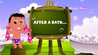 After a Bath - English Nursery Rhymes - Animated/ Cartoon Songs For Kids