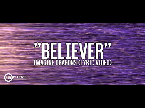Video ► Imagine Dragons - Believer (with lyrics) download in MP3, 3GP, MP4, WEBM, AVI, FLV January 2017