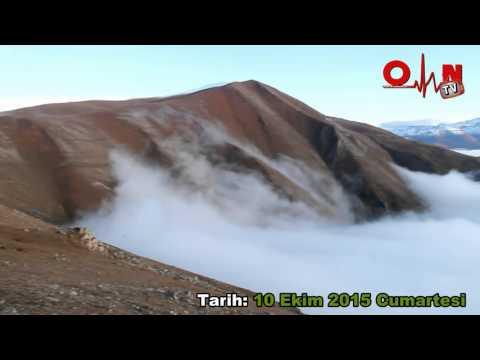 Yılın İlk Kar'ı Yaylalara Yağdı