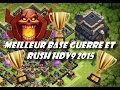 Clash of Clans - Meilleure Base Hdv9 Guerre/Rush 2016 avec propulseur| Anti-Lavaloons, Gowipe