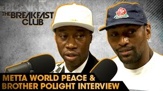 Video Metta World Peace and Brother Polight Interview With The Breakfast Club (8-3-16) MP3, 3GP, MP4, WEBM, AVI, FLV Juli 2018