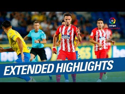 Extended Highlights: UD Las Palmas vs Atlético de Madrid (1-5)