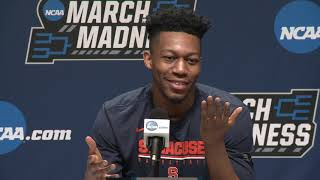 Battle & Hughes | NCAA 1st Round Press Conference
