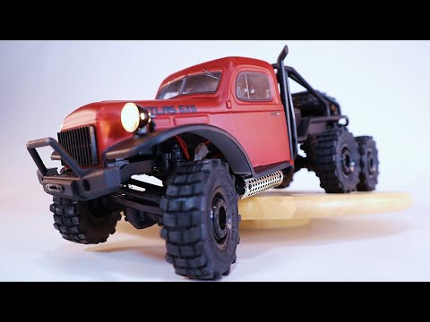 FMS Atlas 6x6 1/18 Scale RC Crawler - FULL REVIEW
