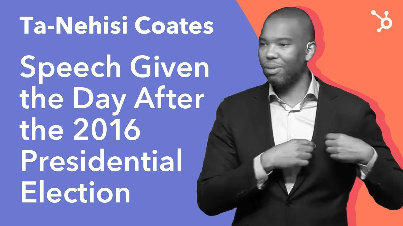 INBOUND 2016: Ta-Nehisi Coates Keynote