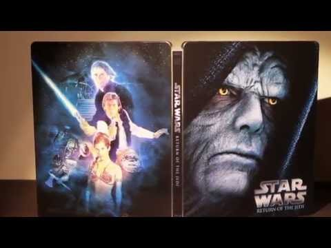 Star Wars Episode VI: Return Of The Jedi - Limited Edition Steelbook Blu-ray Unboxing