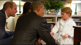 Prince George (VA) United States  city pictures gallery : Obama Meets Prince George for First Time