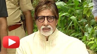 Amitabh Bachchan Interacts With Media On His 71st Birthday ! UNCUT