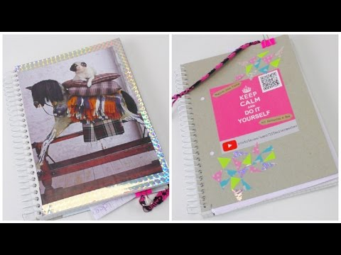 Notizblock / Collegeblock DIY / Schreibblock gestalten und verschönern / Back to School DIY deutsch