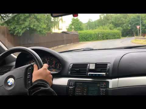bmw e46 330d rain fun part1