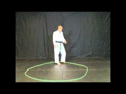 Sparring Footwork Drill For Martial Arts