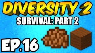 Minecraft: Diversity 2 Ep.16 - ABANDONED MINE!!! (Diversity 2 Survival)