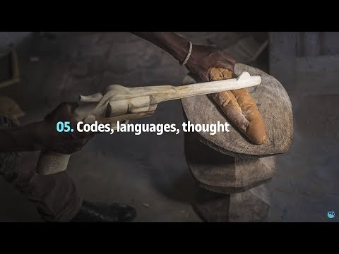 Codes, languages and thought