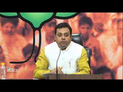 Press Conference by Dr. Sambit Patra: 27.05.2015