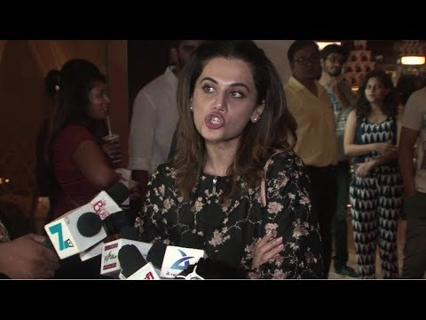 Taapsee Pannu Wishes Her Fans A Happy Diwali At Victoria & Abdul Special Screening