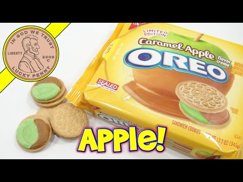 edition - Caramel Apple Oreo's! These tasted like the real thing. I like checking out a new snack food on video. Buy Here ▷ http://luckypennyshop.com/nabisco-oreo-limited-edition-caramel-apple-cookies...