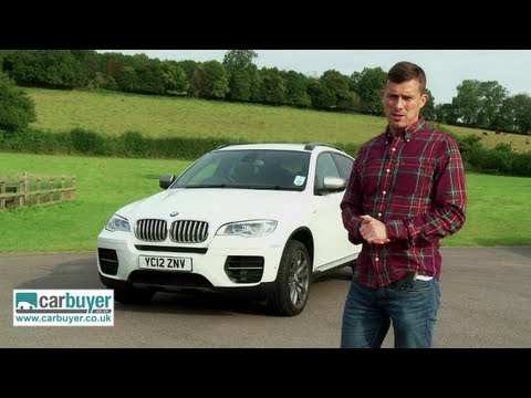 x6 - Full review: http://www.carbuyer.co.uk/reviews/bmw/x6/sports-utility-vehicle/review The BMW X6 is a cross between a coupe and a full-size SUV. Based on the p...