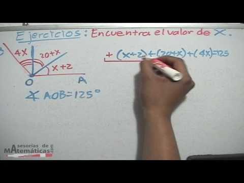 Übungen Winkel mit Gleichungen - HD