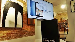 Premiera Samsung Galaxy Tab S3