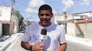 Pavimentação e requalificação asfáltica da Rua Castro Alves, em Paripe