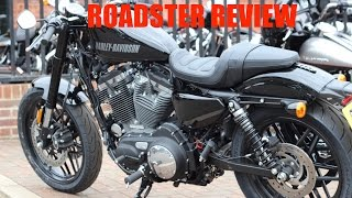 4. 2016 Harley Davidson Roadster First Ride Review