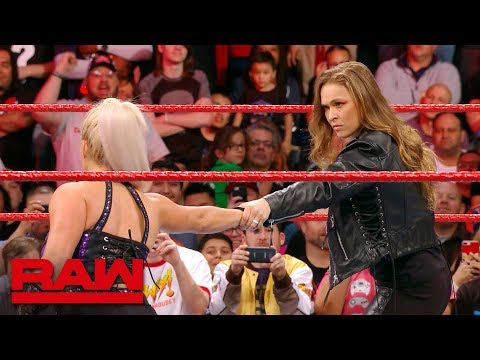 Ronda Rousey makes short work of Dana Brooke: Raw Exclusive, March 19, 2018
