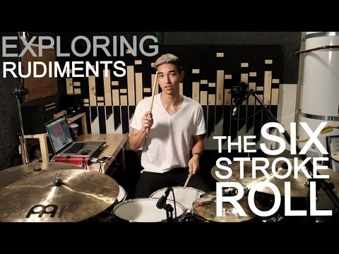 Drum Lesson: Exploring The 6 Stroke Roll With Brandon Scott