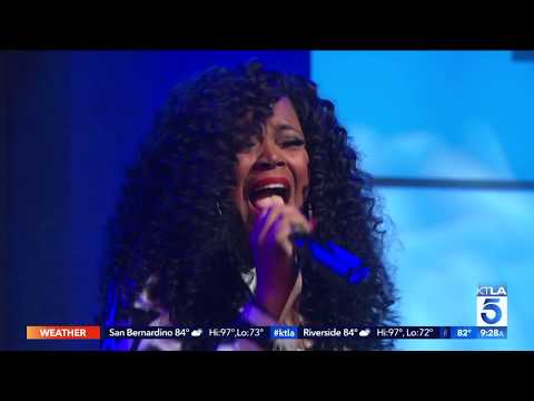 "#ThrowBackThursday Shanice Performs ""I Love Your Smile"" At KTLA"