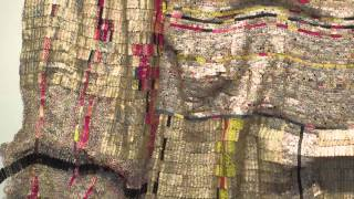Artist Julianne Swartz on El Anatsui's Duvor (communal cloth)