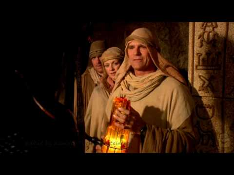 Stargate SG1 - Stealing A ZPM From Ra In The Past (Season 8 Ep. 19) Edited