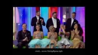 Nicky Byrne & SCD crew The One Show 09 01 14
