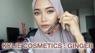 My Favourite Kylie Lip Kit in Ginger  |  Nisa Kay
