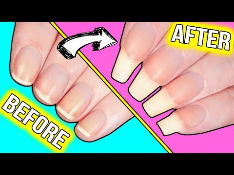 How to GROW YOUR NAILS FAST*!!! (actually helpful information)